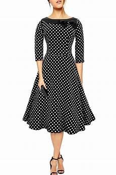 tenue vintage black butterfly robe avec col 192 pois 233 es 50 iris