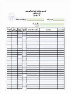 Cash Reimbursement Form Free 10 Petty Cash Reimbursement Forms In Pdf Ms Word