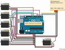 Arduino Servo Motor Control Arduino Android Bluetooth Multi Servo Motor Control