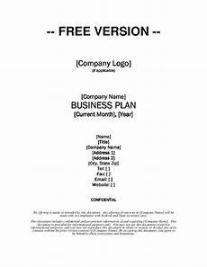 Free Download Business Plan Templates Growthink Business Plan Template Free Download