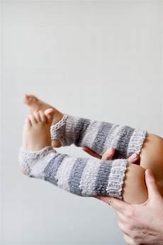 knit striped toddler leg warmers baby socks