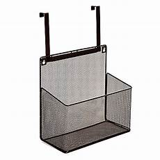 the cabinet basket organizer in mesh bronze bed