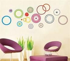 adesivi murali da letto ufingodecor cerchi colorati adesivi murali da