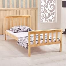 woodern 3ft solid wood bedstead bed frame single size