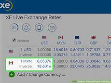 Pesos To Dollars Chart 1 Us Dollar Is Equal To How Many Mexican Pesos New