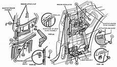 Mustang Quarter Window Regulator Diagram