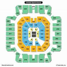 Usair Arena Seating Chart United Supermarkets Arena Seating Chart Seating Charts