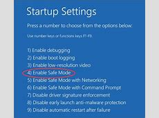 Boot Windows 10 In Safe Mode From Startup Lenovo   Lenovo