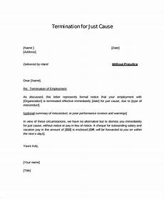 Standard Termination Letter Free 11 Employment Letter Samples In Ms Word Pdf