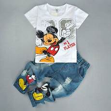 mickey mouse baby clothes doctor 2pcs baby boys mickey mouse sleeve t shirt tops