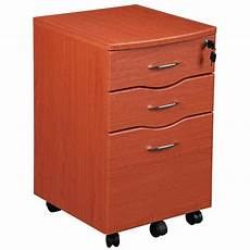 rolling file cabinet honey ebay