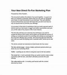 Music Proposal Template 15 Music Marketing Plan Templates Word Pdf Google
