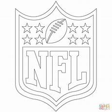 Ausmalbilder Fussball Logos Nfl Logo Coloring Page Free Printable Coloring Pages