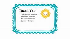 Employee Thank You Notes Thank You Quotes For Students Quotesgram