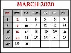 March 2020 Calendar Printable March 2020 Calendar Wallpapers Wallpaper Cave