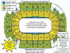 St Charles Family Arena Seating Chart With Seat Numbers Moolah Shrine Circus