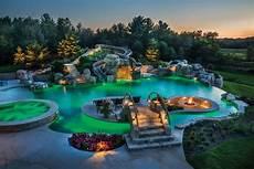 backyards luxury pools outdoor living