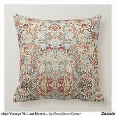 1890 vintage william morris acanthus porti 232 re throw pillow