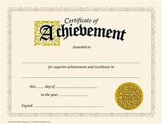 Record Of Achievement Template Trend Enterprises Certificate Of Achievement Classic