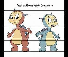 Dragon Height Chart Draco The Movie Height Comparison Chart