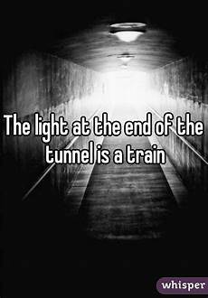 Light At The End Of The Tunnel Book Pdf The Light At The End Of The Tunnel Is A Train