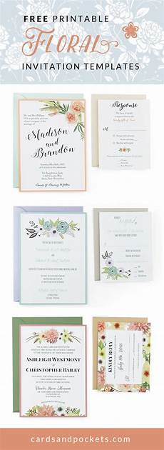 Create Your Own Invitations Online Free Printable Free Wedding Invitation Templates Customize And Download