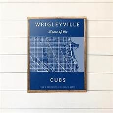 Wrigleyville Seating Chart Wrigleyville Map Chicago Illinois Map Wrigley Field Sign