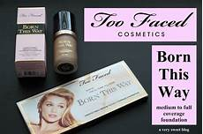 Born This Way Light Beige Review Too Faced Cosmetics Born This Way Liquid Foundation In