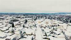 Kttc Lights At Bluff Valley 2017 Veradale Winter Spokane Valley Wa Dji Phantom 3
