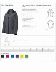 Waterproof Charts Coupon Port Authority L333 Ladies Waterproof Jacket