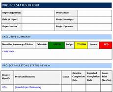 Project Report Template Word Project Status Report Template Word Template Free Download