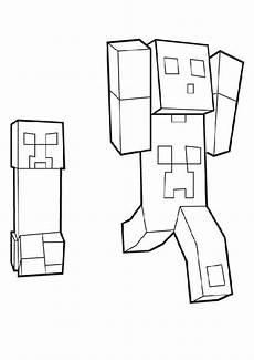 minecraft 10 ausmalbilder malvorlagen