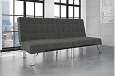 dhp emily futon bed modern sofa design includes