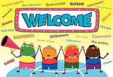 Welcome Back Poster Multilingual Welcome Poster Gresswell Specialist