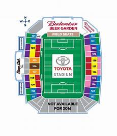 Toyota Field Seating Chart Toyota Stadium Map Fc Dallas