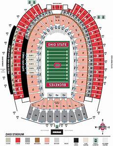Maryland Football Seating Chart Ohio Stadium Seating Chart And Stadium Layout Section