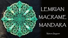 マクラメ曼荼羅 macrame mandala ver9 マクラメギャラリー