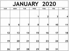 Writable Calendars 2020 Get Free Printable Writable Monthly January Through