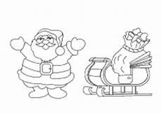 Malvorlage Weihnachtsmann Schlitten Ausmalbilder Zu Weihnachten Weihnachtsmann Nikolaus Und