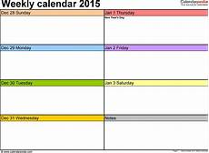 Template For Weekly Schedule Weekly Schedule Maker Task List Templates