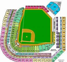 Coors Field Detailed Seating Chart Rows Cheap Coors Field Tickets