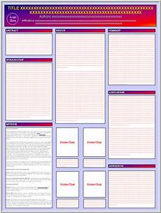 Poster Powerpoint Templates Posters4research Free Powerpoint Scientific Poster Templates