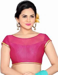 boat neck blouse splicing studio shringaar boat neck s blouse buy pink