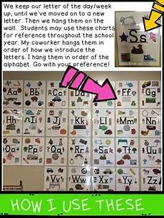 Alpha Chart Alpha Anchor Charts Alphabet Charts For The Classroom