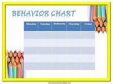 Free Printable Behavior Charts Free Printable Behavior Charts Customize Online
