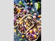 Beef Bulgogi Korean Tacos with Asian Pear Mango Slaw and