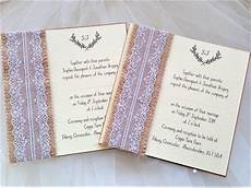 Burlap Wedding Invitations Burlap And Lace Wedding Invites Rustic Wedding Invites 163