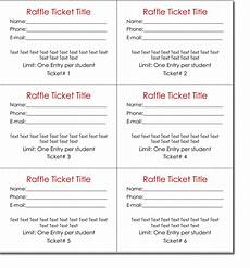 Draw Ticket Template 20 Free Raffle Ticket Templates With Automate Ticket