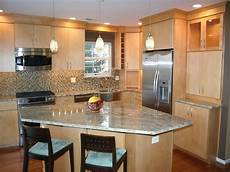 Triangle Kitchen Island Beautiful And Simple Contemporary Kitchen Cabinets Design