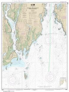 Butler Freeport Trail Mileage Chart Themapstore Noaa Chart 13295 Noaa Damariscotta River